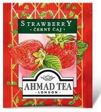 Ahmad Tea - jahodový černý