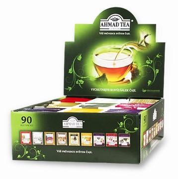 9 Čajových pokladů - výběrová kolekce čajů Ahmad Tea