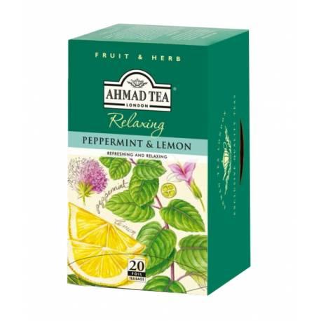Ahmad Tea - máta a citrón