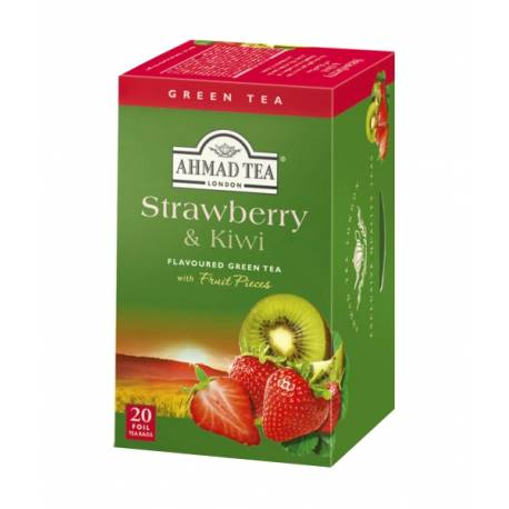Ahmad Tea - jahoda a kiwi