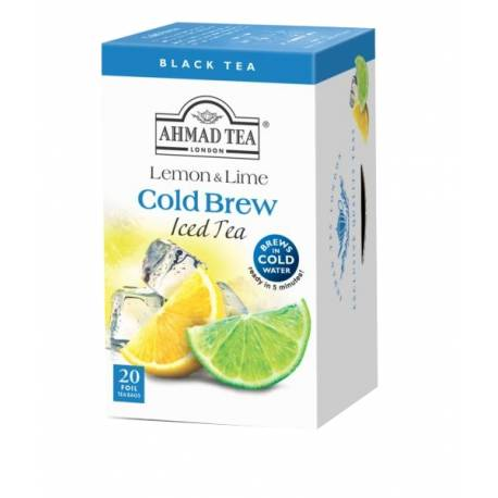 Ahmad Tea Cold Brew - citron a limetka