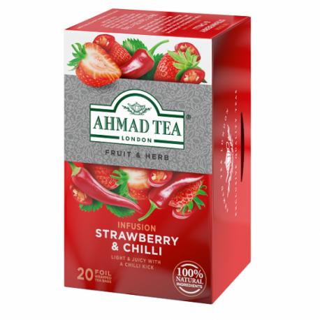 Ahmad Tea - jahoda a čili