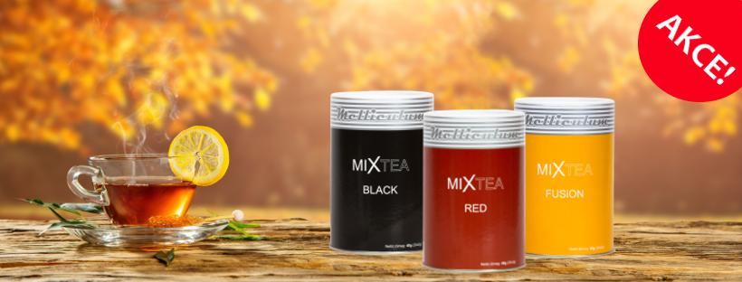 MIXtea čaje akční nabídka