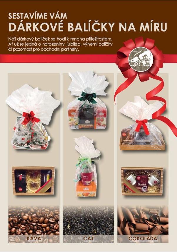 Vánoční balíčky Pascucci