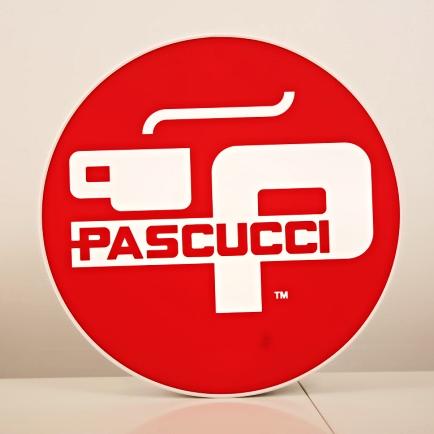 Venkovní světelná reklama Pascucci