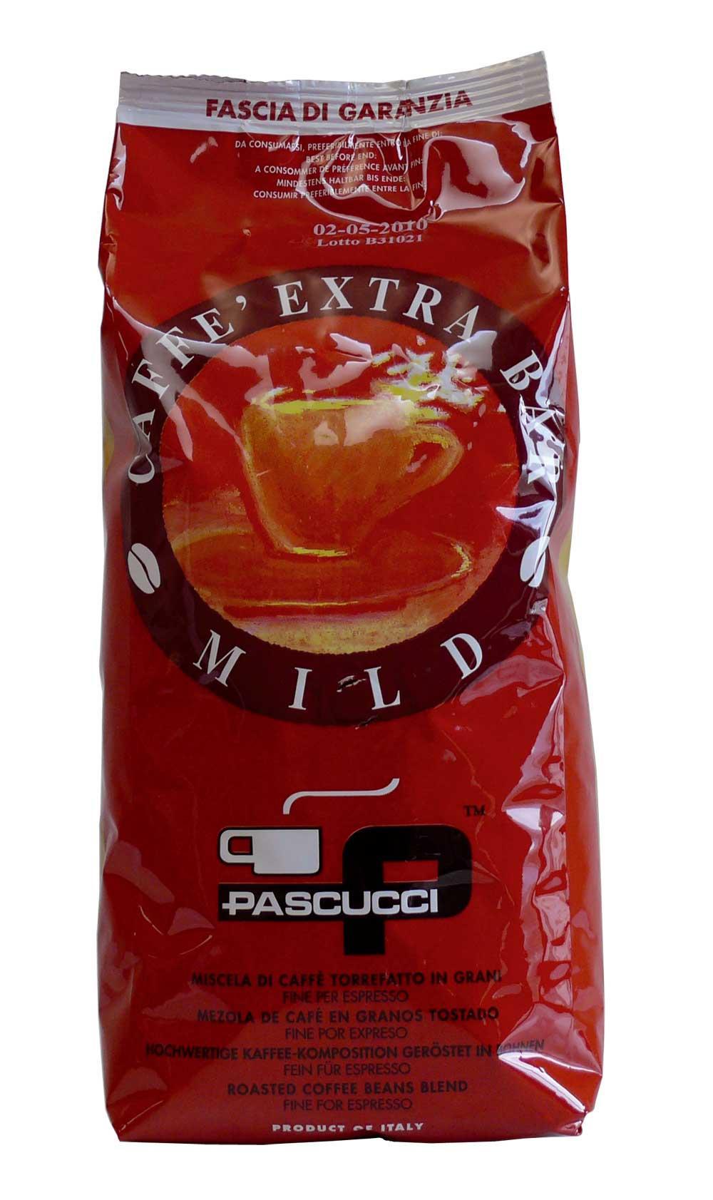 Pascucci Extra Bar Mild Caffé