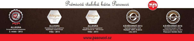 Ocenění kávy Pascucci