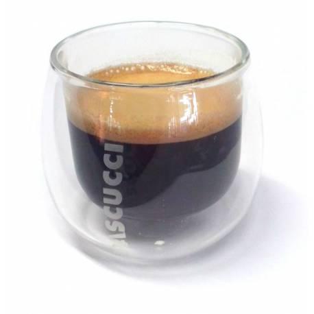 Dvoustěnné termo skleničky na kávu (bal. 2 ks)